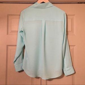 Express Tops - Express Portofino Sheer Shirt